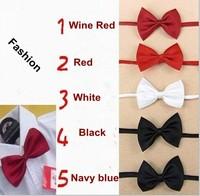 Fashion GIFT kids Bow Tie boy girl baby Tuxedo Bowtie Necktie Can Choose Colors free ship 640025J