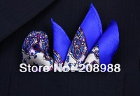 2013 Newest Fashion Silk Pocket Squares Handkerchief SZ01