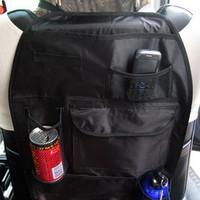 Car multifunctional back seat bags car glove bags grocery bags car storage bag seat back pocket  car organizer storage box 1009
