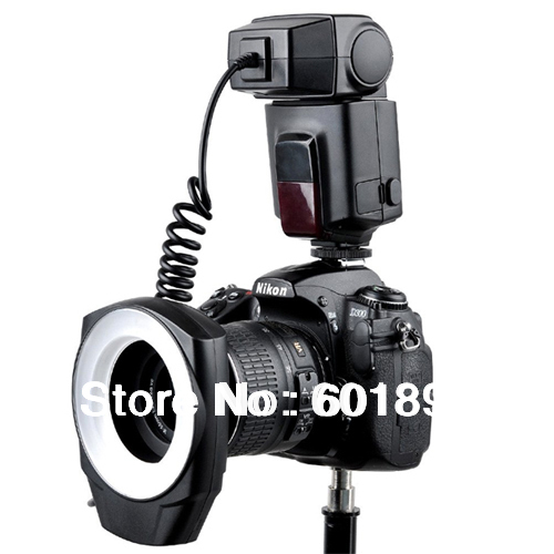 New Arrival Godox ML-150 Macro Ring Flash Camera Video Lens 5 Adjustable Power 0utput free shipping wholesale # 220198(China (Mainland))