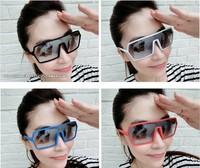 Free shipping !  Male tide female fan summer dazzle colour toad light uv protection glasses sunglasses  Z-325