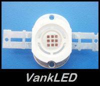 5PCS 10W High Power Red LED Light Bulb 500lm