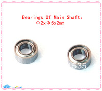 WLToys V922-18 Bearings OF Main Shaft ( Principal Axis ) 2x5x2MM Spare Parts For WL Toys V922 2.4G 6Ch Flybarless RC Helicopter