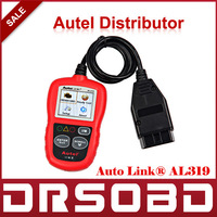 [AUTEL Distributor]Auto Diagnostic Scan Autel AutoLink AL319 OBD II & CAN Code Reader Auto Link AL-319 Update Official Website