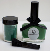 2013 Drop Shipping Good packing Candy color nail Velvet Set Polish Green