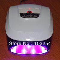 Free shipping 45 watts LED-1 Nail UV Lamp , 5 watts X 9 pcs led bulbs , only European plug , 220v-250v