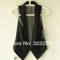 New 2014 spring and summer , Ms. Slim was thin vest small suit vest women vest  Brand Design