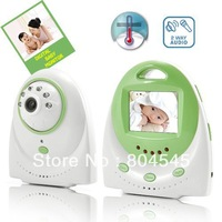 2.4 inch Digital wireless baby monitor Wireless audio and video monitor support   intercom  music player 320