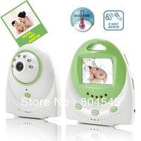2.4 inch Digital wireless baby monitor Wireless audio and video monitor support   intercom  music player 320