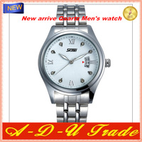 2013 luxury brand stainless steel Original skmei watches for men Fashion Watch 3 color wristwatch Japan Quartz