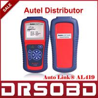 [AUTEL Distributor]Auto Diagnostic Scan Autel AutoLink AL419 OBD II & CAN Code Reader Auto Link AL-419 Update Official Website