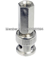 Free Shipping,100Pcs,Twisted CCTV Crimp BNC Connector Plug Adapter