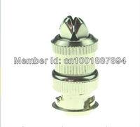 Free Shipping,100Pcs,Turkey Market Hot-Sale CCTV Crimp BNC Coax Connector Plug