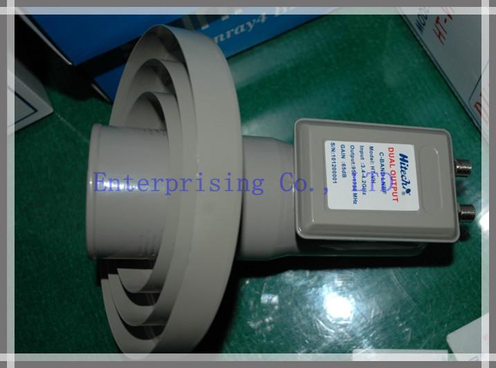 Atacado - melhor qualidade dupla polaridade LNBF banda C 15 K LNBF DIGITAL LNBF banda C grátis frete(China (Mainland))