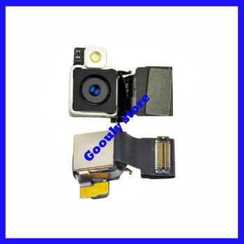 5pcs/lot Original 8.0 mega pixel Back rear Camera w/Flash for iPhone 4S Back rear Camera Free Shipping