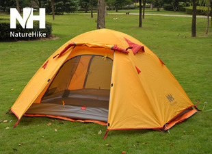 Double / triple bunk outdoor tent, aluminum pole camping tent(China (Mainland))