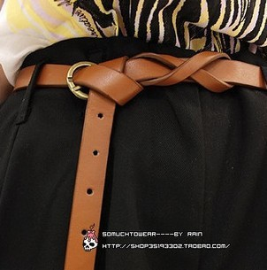 Min.order is $10 (mix order). Joker super show thin fine belt cross waist decoration.welcome to order!(China (Mainland))