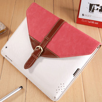 360 degree rotating protective sleeve for ipad2 ipad3/4 with retro style