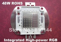 10pcs/lot 48W RGB LED Module, Integrated High-power RGB LED Light source,ROHS