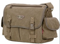 shoulder canvas bag and vintage male sport cross body and outdoor casual bag enhanced version