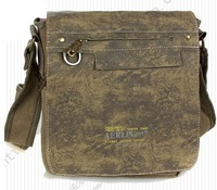 hot army  canvas shoulder & messenger cross body bag male Women thickening