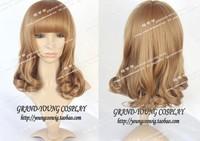 HOT! Chaomeng Lolita Kyary Pamyupamyu Brown Curls Cosplay Wig