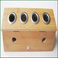 Pamboo moxibustion box moxa box
