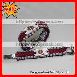 new products for 2013 paracord parachute cord bracelet survival rope bracelet(China (Mainland))