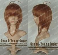 Hot Sell! Card Capter / Tsubasa Kinomoto Sakura Cosplay Brown cos Wigs