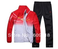 The new sportswear suit male couple models female models sport suit male sportswear Spring Kit Spring and Autumn