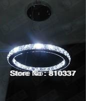 40cm Modern LED Round Crystal Lamp Diamond Ring Ceiling Light Lighting EMS FREE SHIPPING