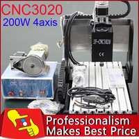New technology! 4 Axis CNC3020 Engraving Machine CNC Router Ship out in 24hours!
