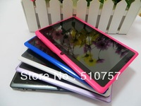 dual camera 30pcs/lot Free Shipping Q88 8GB Tablet PC A13 7 inch Capacitive Screen  Android 4.0 Camera Wifi G-sensor 512MB