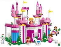Original Box Banbao Princess Series A6365 Girl Building Block Sets 380pcs Educational Construction Bricks toys for children