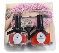 2013 Hot Red Nail Caviar Rhinestones Manicure Kit Set Free shipping