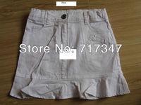 children 100% cotton short skirt