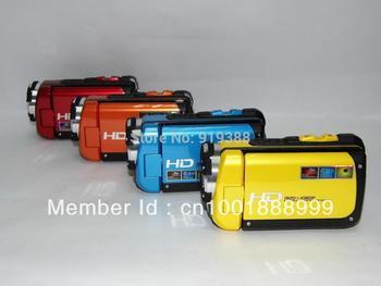 Full HD 1080P underwater 5M Digital Camcorder,16MP Digital Camera,Voice Recording,4X Digital zoom,3.0inch LCD,Li-ion battery
