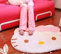 Super Hot New Cute Hello Kitty Soft Carpet Bedroom Floor + Free Shipping Promotion