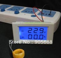 Blue Digital Voltmeter Ammeter AMP Current Volt Voltage Meter Panel 300V 100A