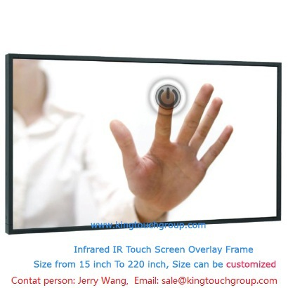low price and free shipping IR Touch Screen screen kit 42 inch easy operation(China (Mainland))