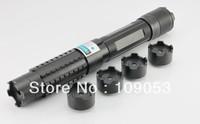 Light Cigratte 1000MW 1W-1.5W adjustable  blue laser pointer+5 * laser heads + glasses+Battery+Gift box +  EMS Free Shipping
