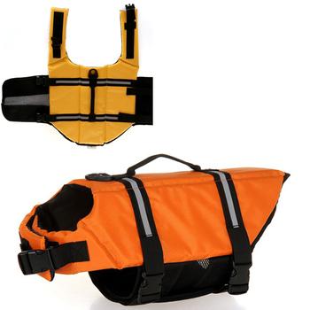 XS Size New Pet Dog Swimming Preserver Boat Saver Life Jacket Reflective Strip 2 Colors D044