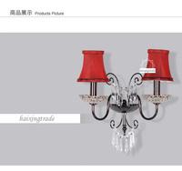 top quality K9 crystal wall lamp ,wall light ,bedroom wall lamp