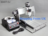 Shipping From UK Engraving Machine CNC 3040T-DJ 220V router table CNC 3040 Route Engraver Cutting Milling Machine Duty-Free