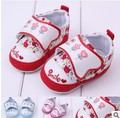 Girls baby shoes infant toddler kids sneakers Flowers first walkers children kid shoes 3 colors(China (Mainland))