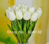 "20pcs 35cm/13.78"" Length Single Head Real Touch PU Tulips Bouquet Flower Decorative Flowers"
