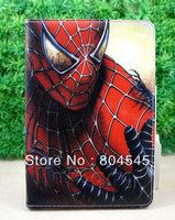 Spider  men   design   Leather Smart  Cover Case for Ipad mini