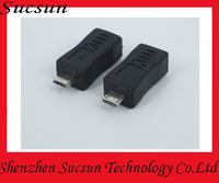 Popular Micro male USB to mini USB female
