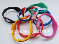 200pcs/lot Basketball Team Player Silicone Sports Energy Balance Bangle Bracelets -US,UK,Canada,Australia support DHL FREE!