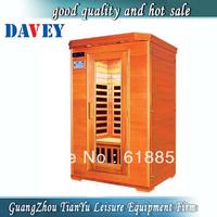 Leisure mini sauna room far infrared sauna room for 2 person